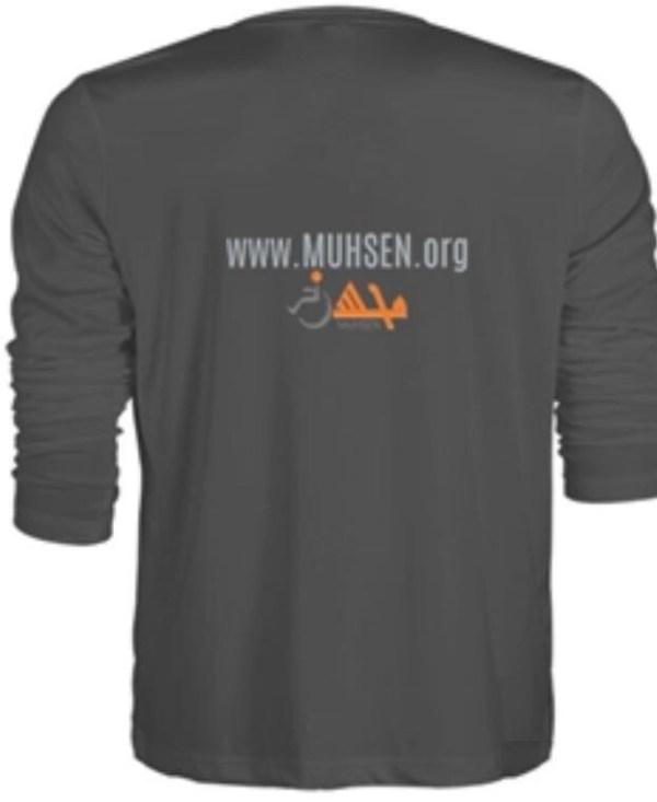 Muhsen Long Sleeve Shirt Back