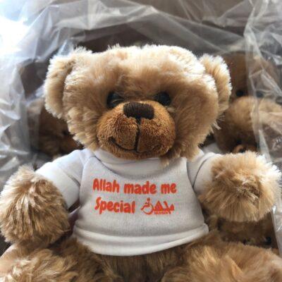 Allah Made Me Special MUHSEN Teddy Bear