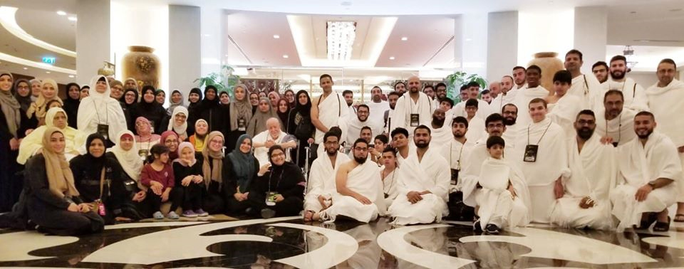 The full Umrah group of 2019