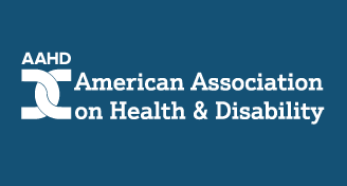 American association on health and disability logo