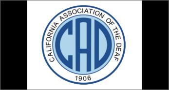 California association of the deaf logo