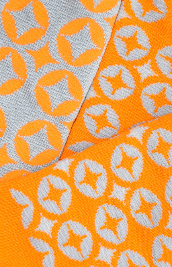 Close up image of muhsen halal socks
