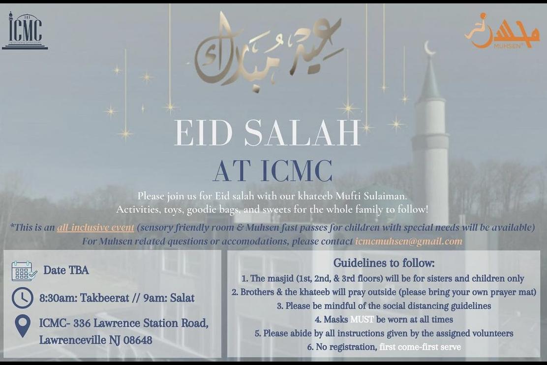 ICMC Eid Salah Flyer